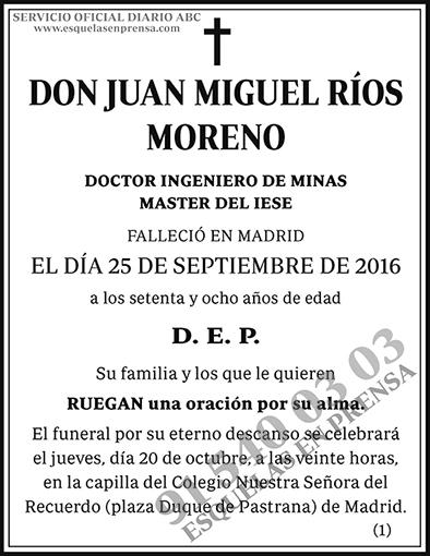 Juan Miguel Ríos Moreno